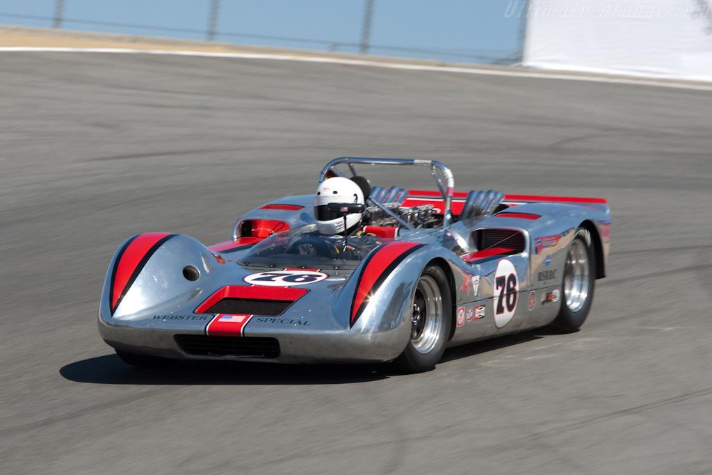 Webster    - 2009 Monterey Historic Automobile Races