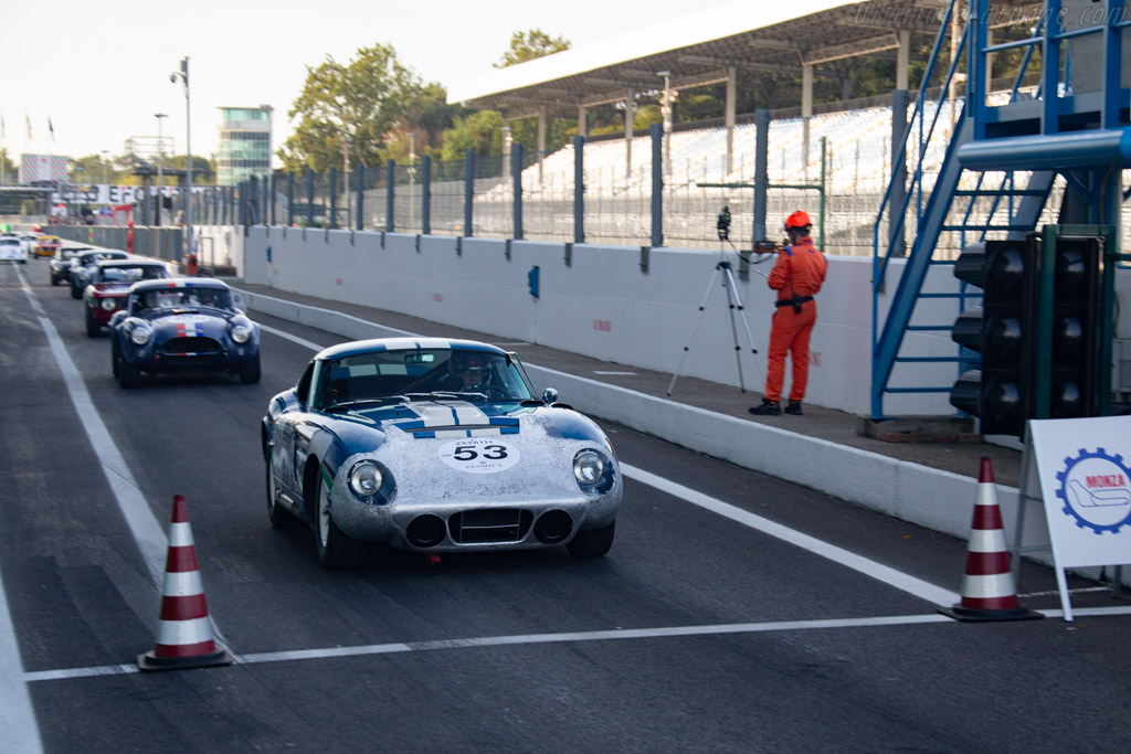 AC Cobra - Chassis: CSX2343 - Driver: Pierre-Alain France / Yves Scemama - 2019 Monza Historic