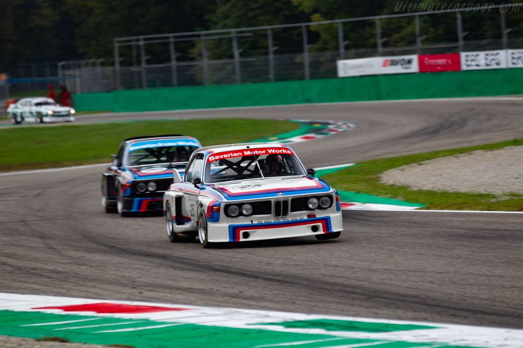BMW 3.0 CSL - Chassis: 4300096 - Driver: Christian Traber - 2019 Monza Historic