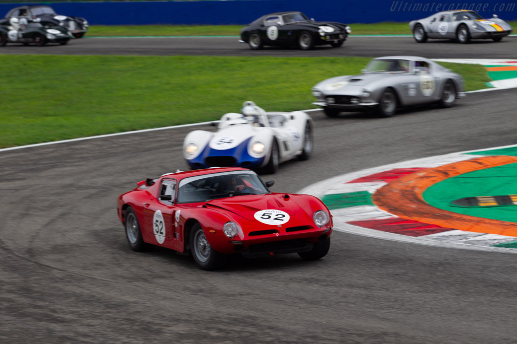 Bizzarrini 5300 GT - Chassis: BA4 0102 - Driver: Peter Muelder / Christian Traber - 2019 Monza Historic