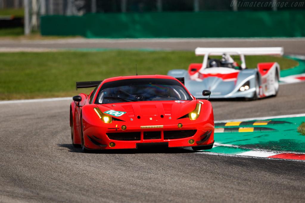 Ferrari 458 GTE - Chassis: 2842 - Driver: Tina Marianne Kok / Henrik Lindberg - 2019 Monza Historic