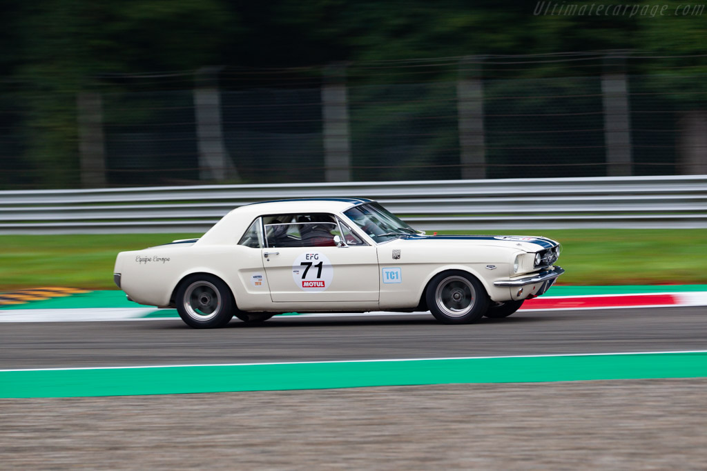 Ford Mustang - Chassis: 5F07K627425 - Driver: Baptiste Guyot-Sionnest - 2019 Monza Historic