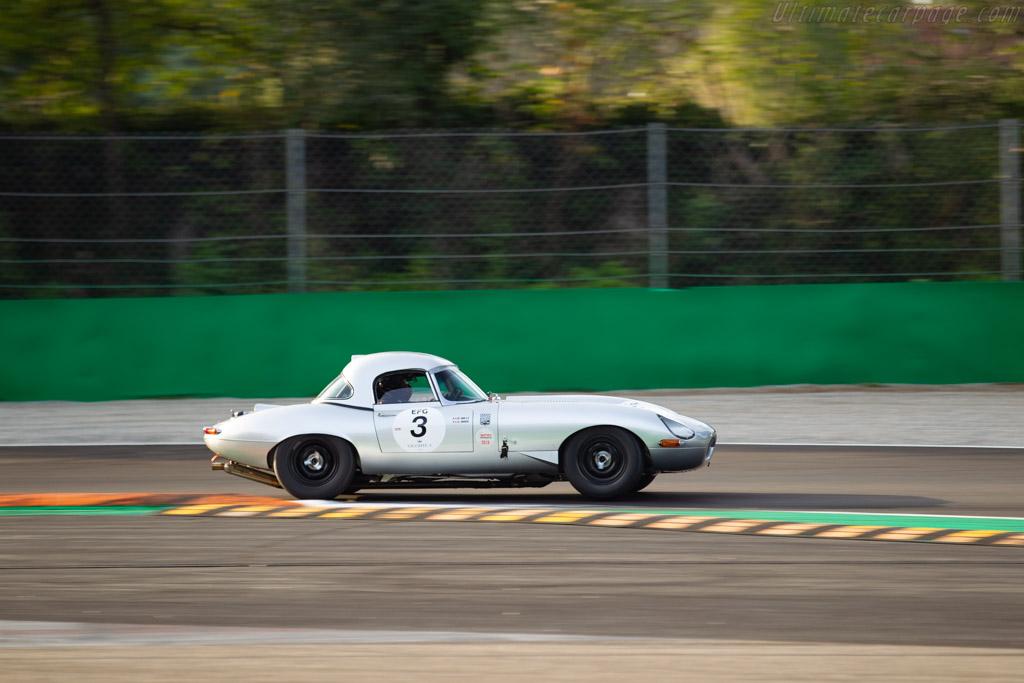 Jaguar E-Type - Chassis: 878981 - Driver: Armand Mille / Guillaume Mahe - 2019 Monza Historic