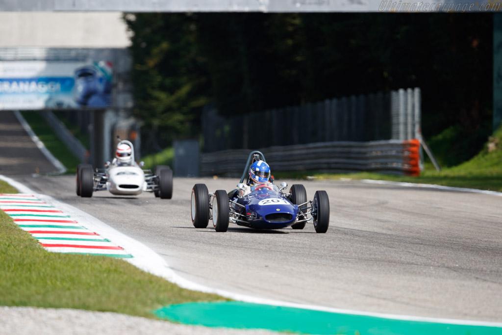 Lotus 22 - Chassis: FJ22/29 - Driver: Andrea Guarino - 2019 Monza Historic