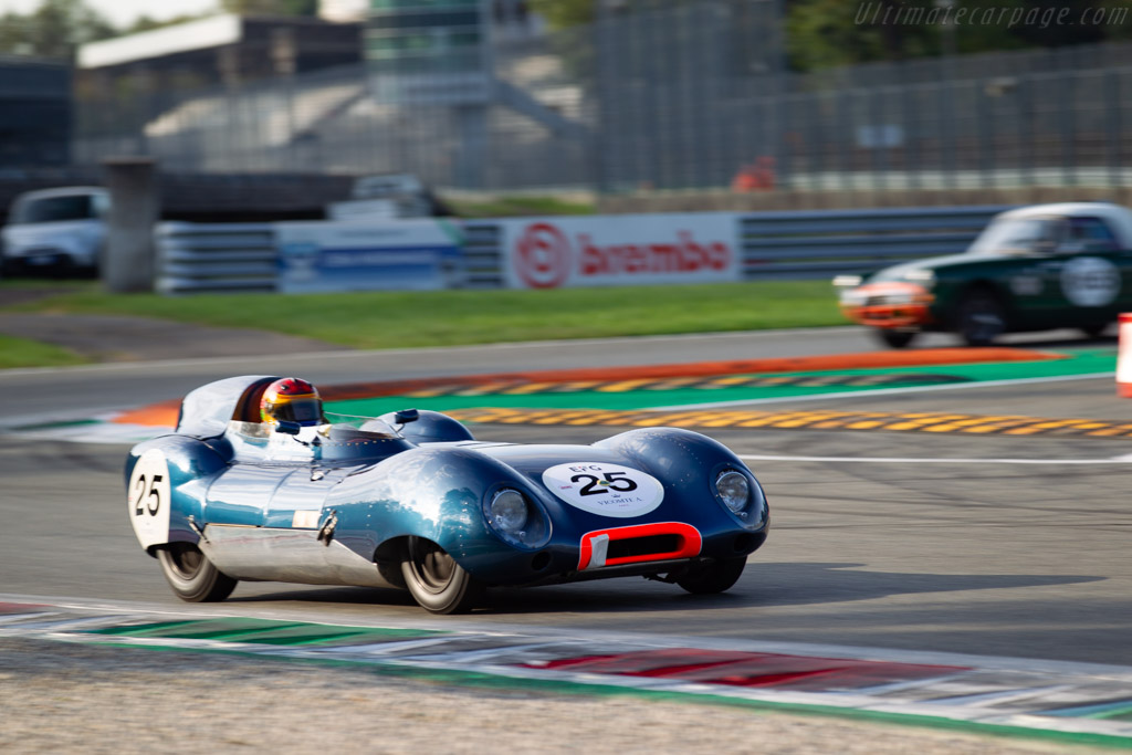 Lotus Eleven - Chassis: LM026 - Driver: Sandy Watson / Andrew Kirkaldy - 2019 Monza Historic