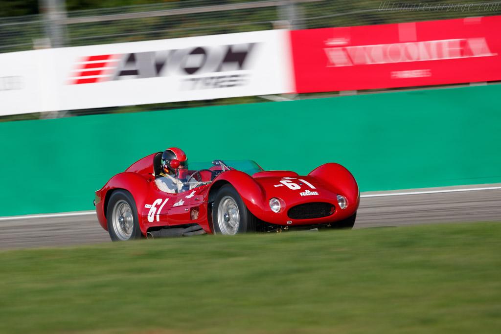 Maserati Tipo 60 - Chassis: 2466 - Driver: Guillermo Fierro - 2019 Monza Historic