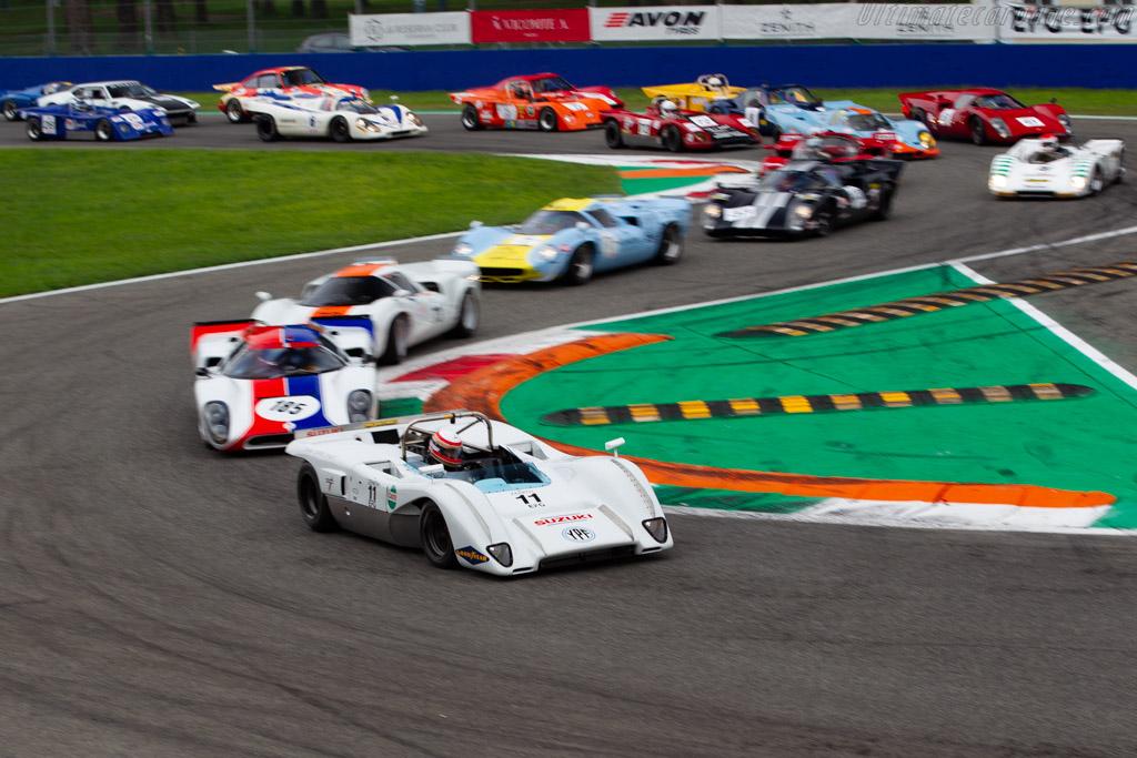 McLaren M8C DFV - Chassis: 70-01 - Driver: Marc Devis / Martin O'Connell - 2019 Monza Historic