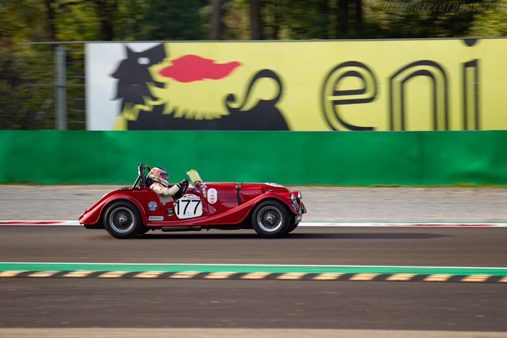 Morgan +4  - Driver: Adrian Van Der Kroft / Marc Devis - 2019 Monza Historic