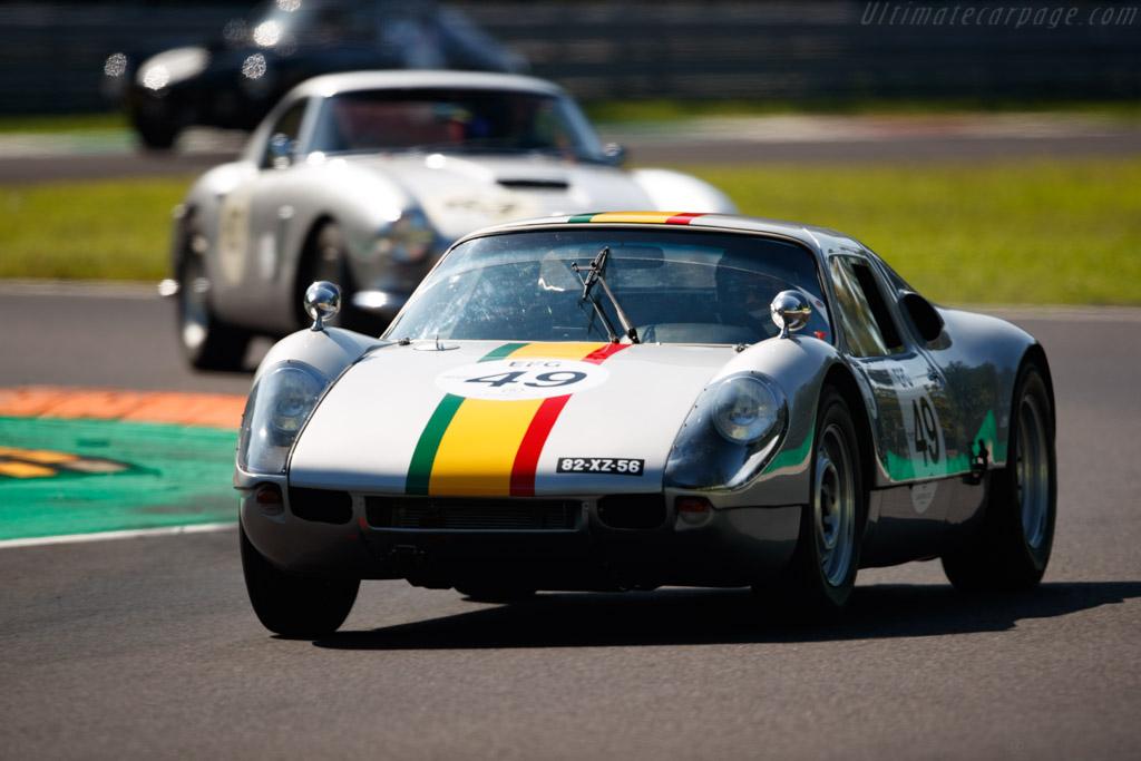Porsche 904 GTS - Chassis: 904-059 - Driver: Hipolito Pires / Tiago Raposo - 2019 Monza Historic
