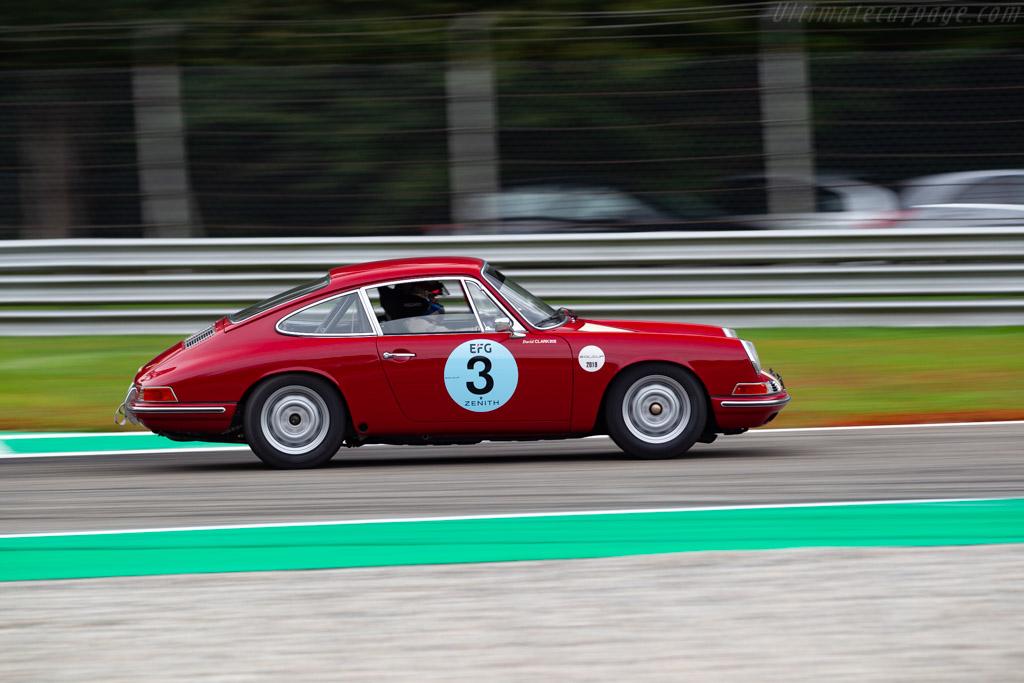 Porsche 911 - Chassis: 303586 - Driver: David Clark / Danny O'Connell - 2019 Monza Historic
