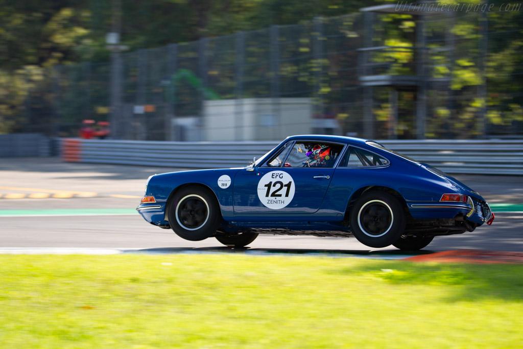 Porsche 911  - Driver: Eugenio Amos - 2019 Monza Historic