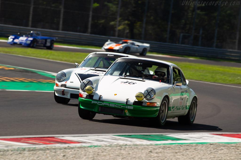 Porsche 911 Carrera RS 2.7 - Chassis: 911 360 1347 - Driver: Christian Bouriez / Alice Bouriez - 2019 Monza Historic