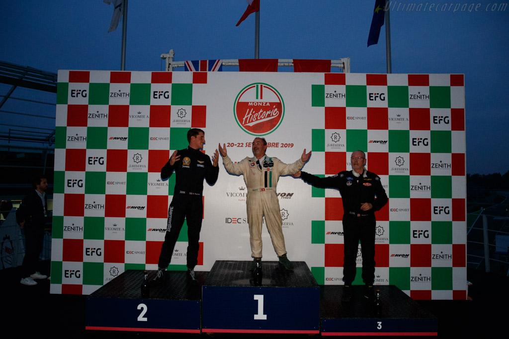 The Podium   - 2019 Monza Historic