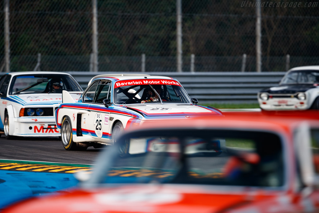 BMW 3.0 CSL - Chassis: 4300096 - Driver: Christian Traber - 2020 Monza Historic