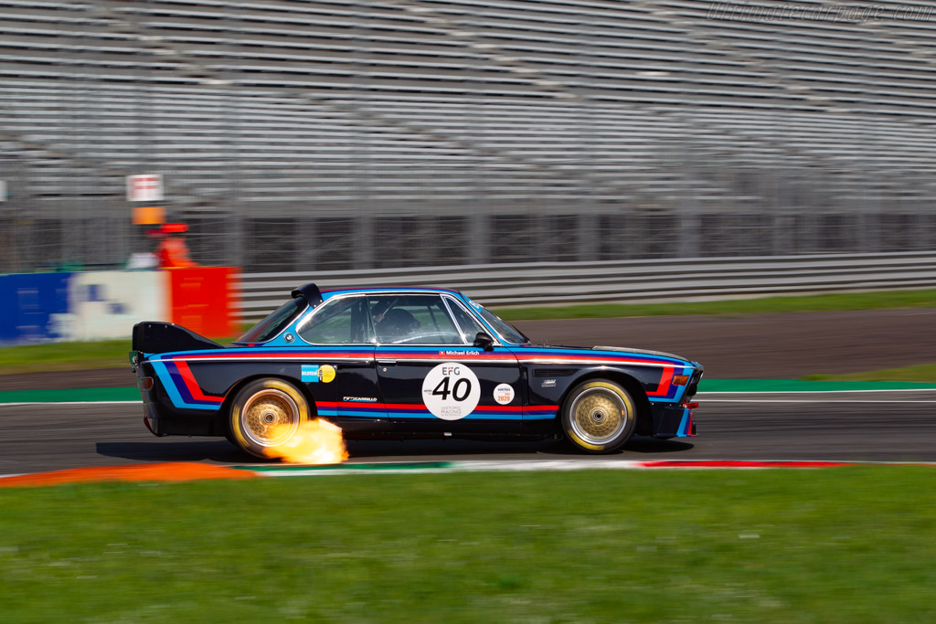 BMW 3.0 CSL  - Driver: Michael Erlich - 2020 Monza Historic