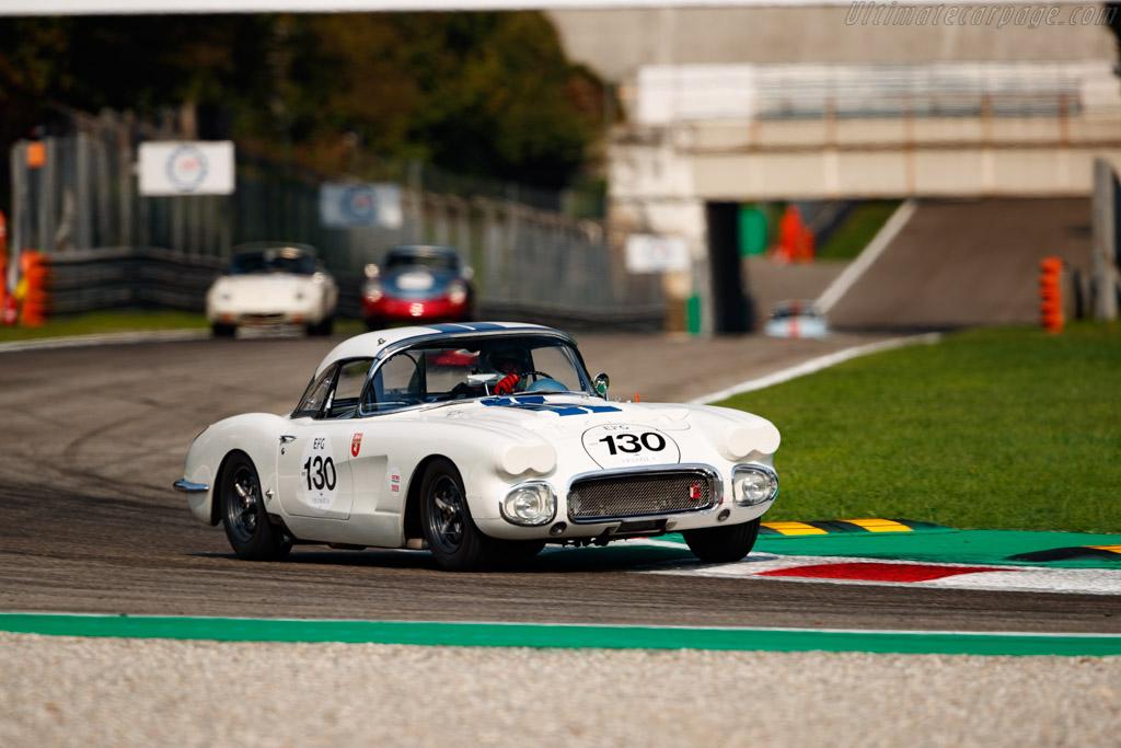 Chevrolet Corvette C1 - Chassis: 00867S102899 - Driver: Gilles Rivoallon - 2020 Monza Historic