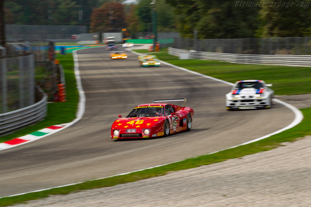Ferrari 512 BBLM - Chassis: 35525 - Driver: Christian Bouriez - 2020 Monza Historic