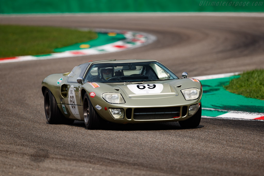 Ford GT40 - Chassis: GT40P/1078 - Driver: Mr John Of B - 2020 Monza Historic