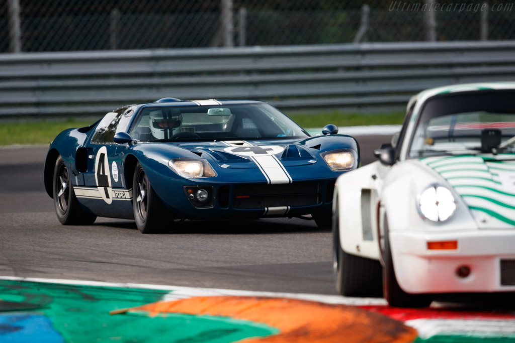 Ford GT40 - Chassis: GT40P/1055 - Driver: Olivier Breittmayer - 2020 Monza Historic