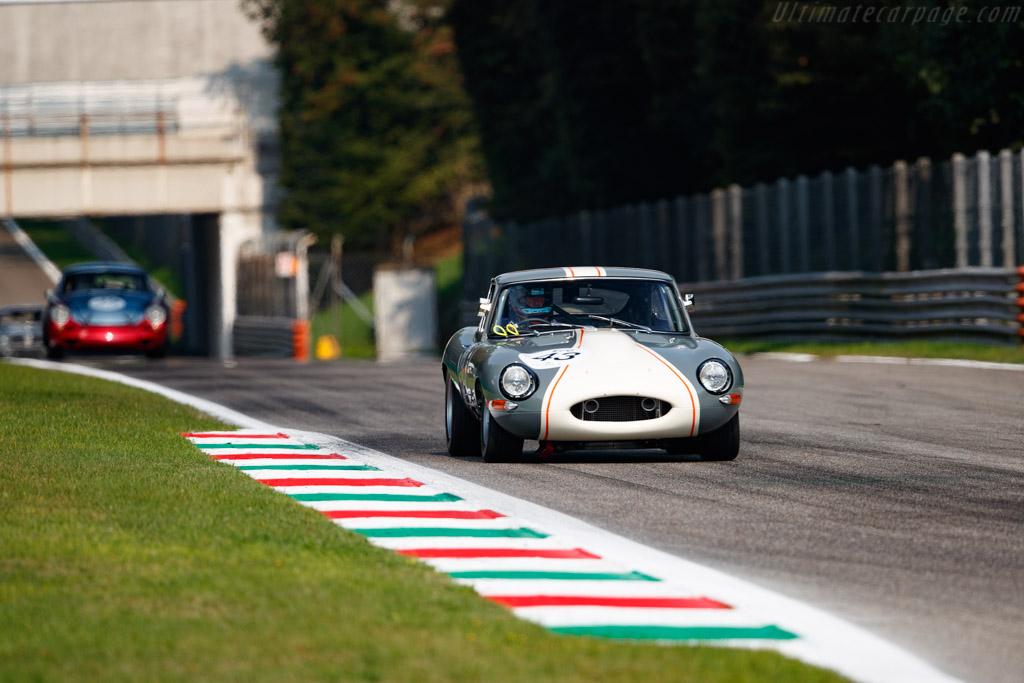 Jaguar E-Type - Chassis: 889980 - Driver: James Thorpe / Phil Quaife - 2020 Monza Historic