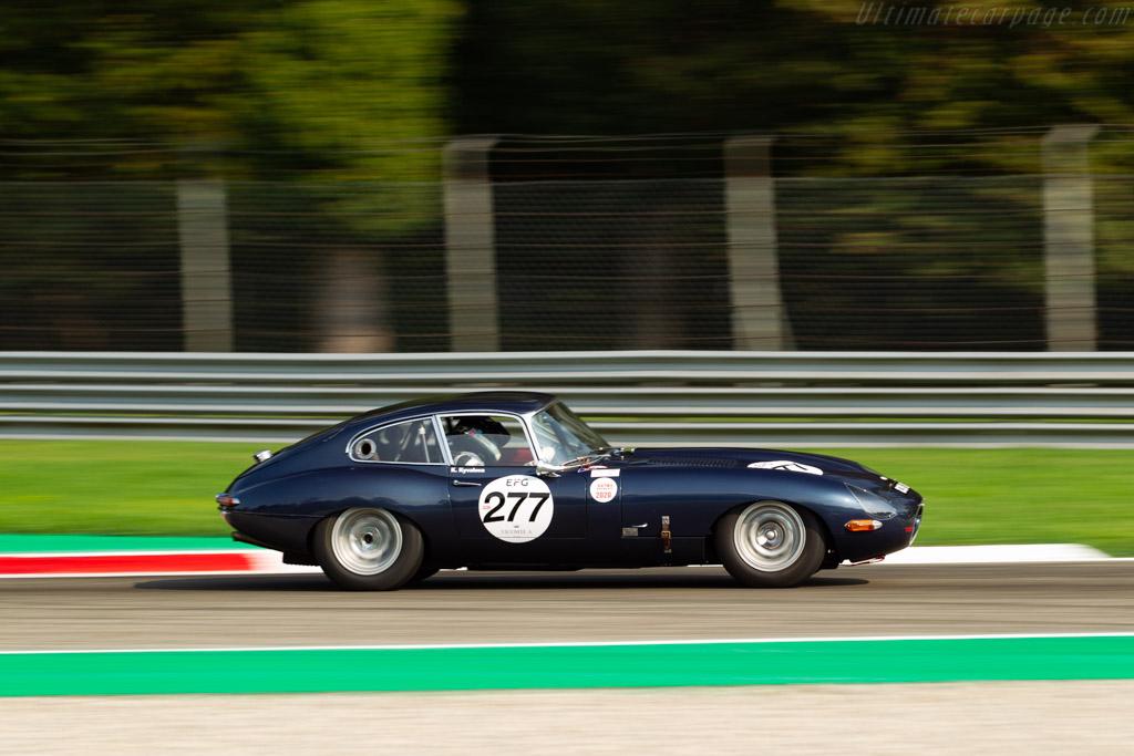 Jaguar E-Type 3.8 - Chassis: 860450 - Driver: Katarina Kyvalova / John Minshaw - 2020 Monza Historic