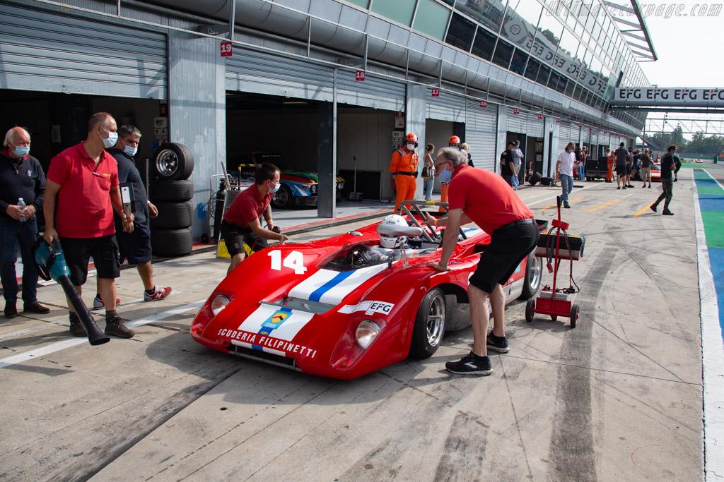 Lola T212 - Chassis: HU18 - Driver: Mauro Poponcini - 2020 Monza Historic