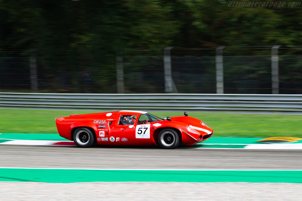 Lola T70 Mk III Coupe - Chassis: SL73/114 - Driver: Christophe Gadais - 2020 Monza Historic