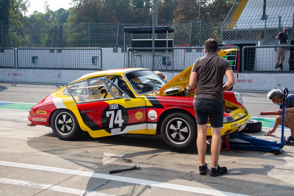 Porsche 911 - Chassis: 300506 - Driver: Christian Coll - 2020 Monza Historic