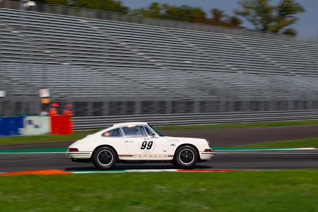 Porsche 911  - Driver: James Thorpe / Claudio Cappelli - 2020 Monza Historic