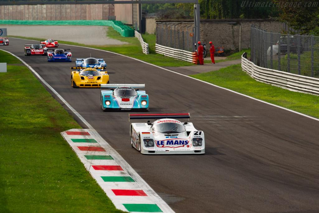 Porsche 962C - Chassis: 962-155 - Driver: Ivan Vercoutere / Ralf Kelleners - 2020 Monza Historic