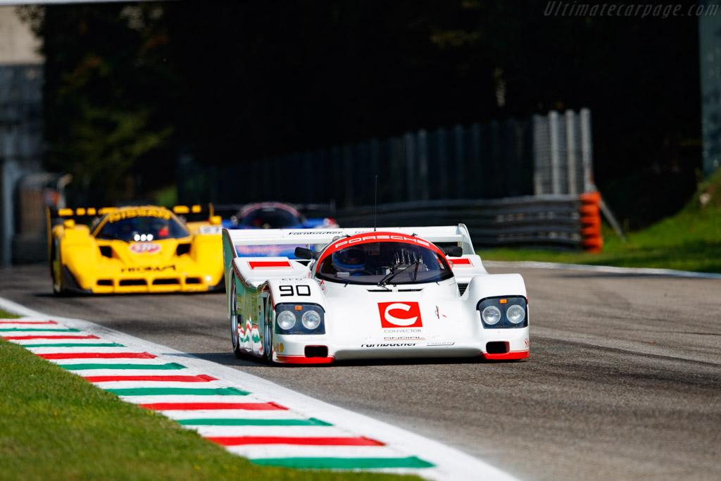 Porsche 962C - Chassis: 962-162 - Driver: Lars Erik Nielsen / Dominik Farnbacher - 2020 Monza Historic