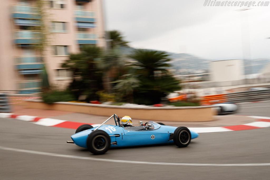 Brabham BT2 - Chassis: FJ-5-62 - Driver: Philippe Bonny  - 2018 Monaco Historic Grand Prix