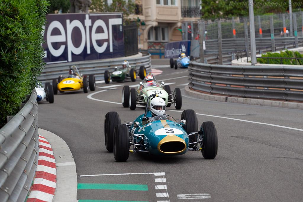 Brabham BT3 - Chassis: 1 - Driver: Marco Rollinger  - 2018 Monaco Historic Grand Prix