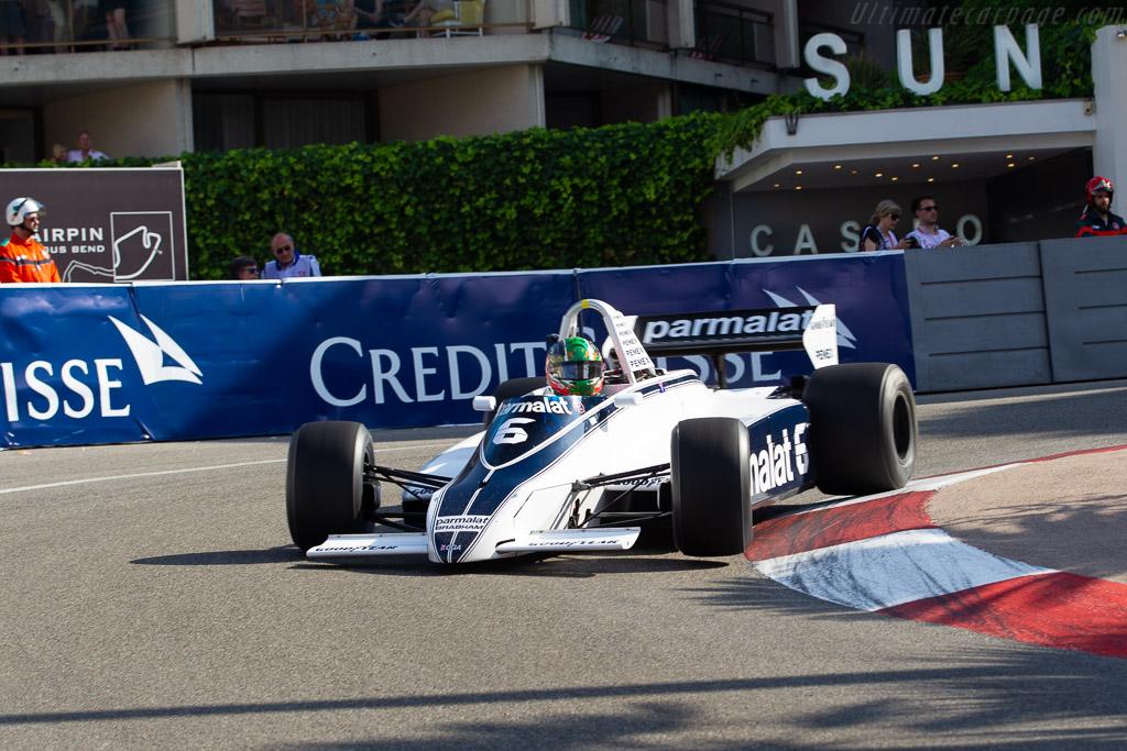Brabham BT49C - Chassis: BT49C/10 - Entrant: CGA Race Engineering - Driver: Joaquin Folch-Rusinol  - 2018 Monaco Historic Grand Prix