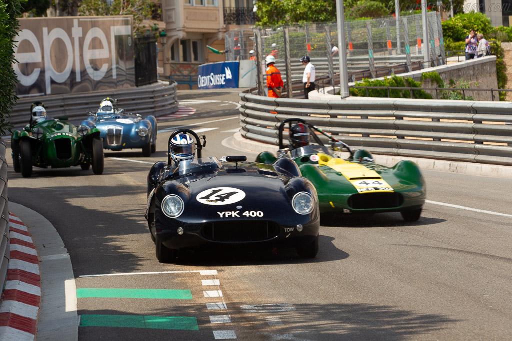 Cooper T38 Jaguar - Chassis: CJ-3-55 - Driver: Frederic Wakeman  - 2018 Monaco Historic Grand Prix