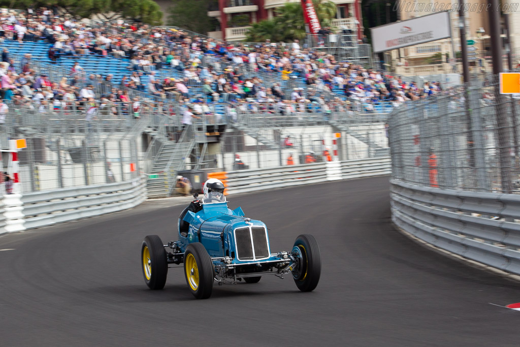 ERA B-Type - Chassis: R5B - Entrant: Charles McCabe - Driver: Paddins Dowling  - 2018 Monaco Historic Grand Prix