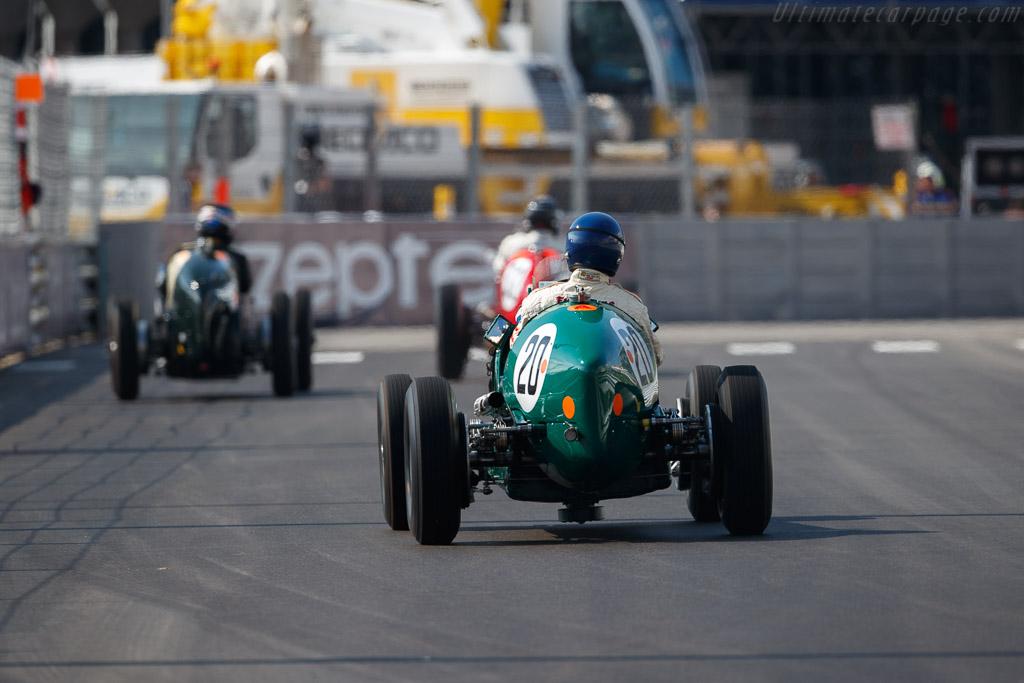 ERA B-Type - Chassis: R14B - Driver: Chris Mac Allister  - 2018 Monaco Historic Grand Prix