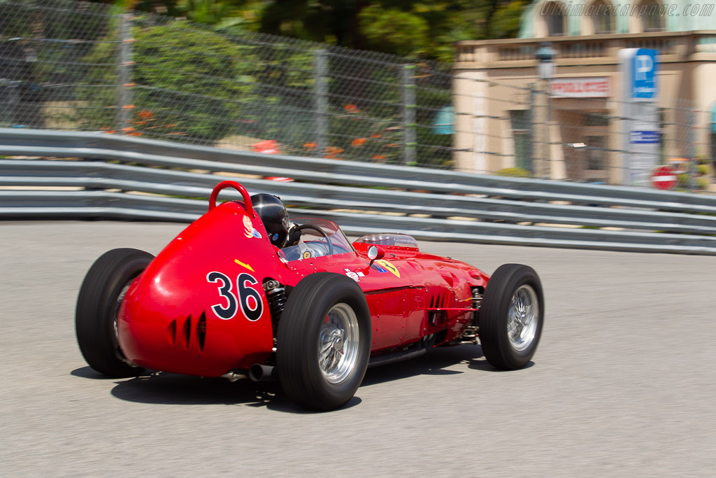 Ferrari 246 Dino - Chassis: 0007 - Driver: Max Birkenstock  - 2018 Monaco Historic Grand Prix
