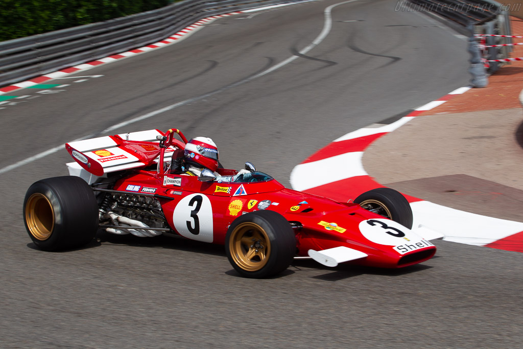 Ferrari 312 B - Chassis: 003 - Driver: Paolo Barilla - 2018 Monaco Historic Grand Prix
