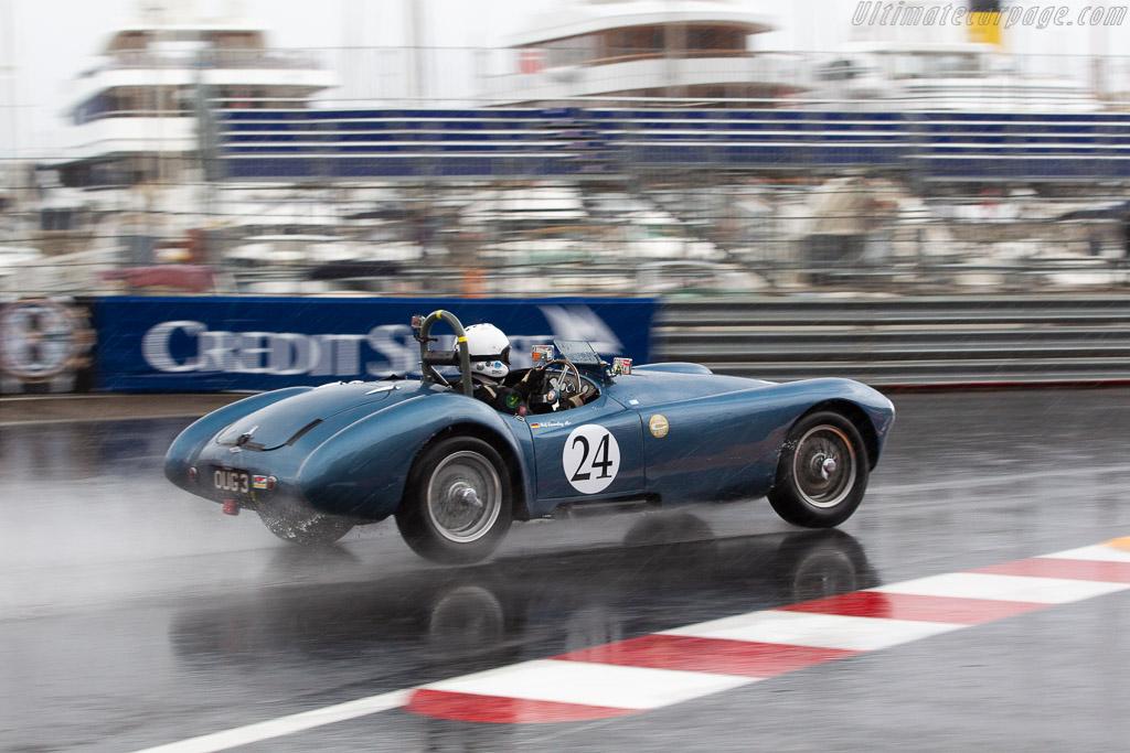 Frazer-Nash Mille Miglia - Chassis: 421-100-157 - Entrant: Renaat Declerck - Driver: Ralf Emmerling  - 2018 Monaco Historic Grand Prix