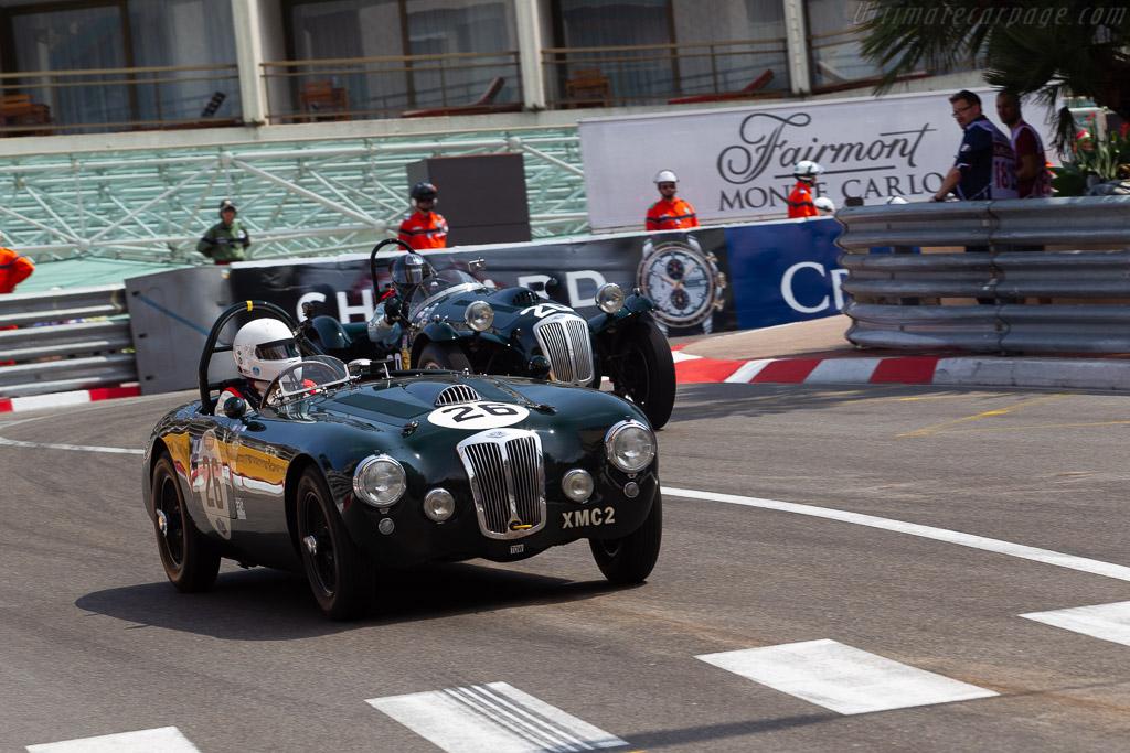 Frazer-Nash Targa Florio - Chassis: 421-200-162 - Driver: David Graus  - 2018 Monaco Historic Grand Prix