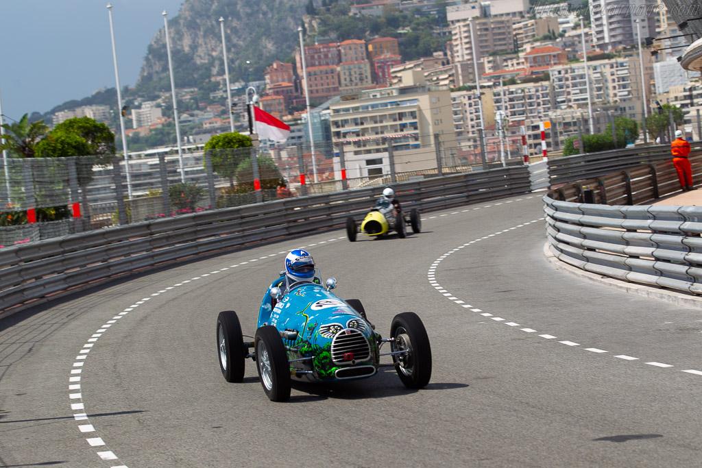 Gordini T11/15 - Chassis: 0002GC - Driver: Jean-Jacques Bally  - 2018 Monaco Historic Grand Prix