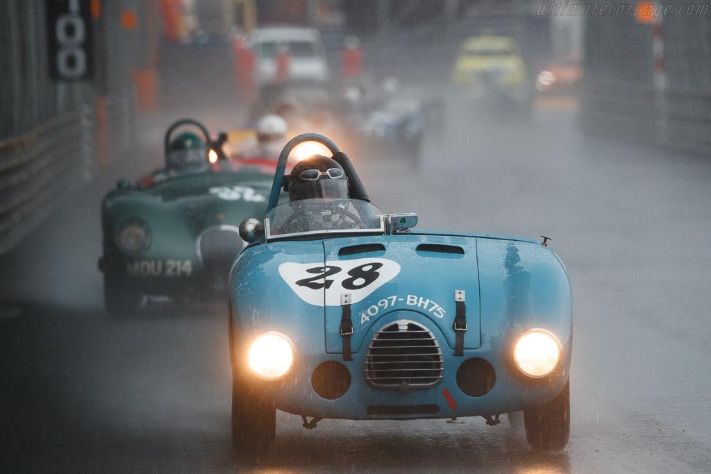 Gordini T23S  - Driver: Eddie McGuire  - 2018 Monaco Historic Grand Prix