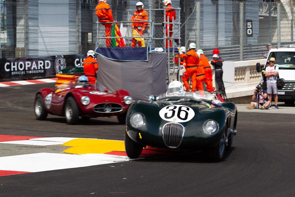 Jaguar C-Type - Chassis: XKC-050 - Entrant: Tom Price - Driver: Jeffrey O'Neill  - 2018 Monaco Historic Grand Prix