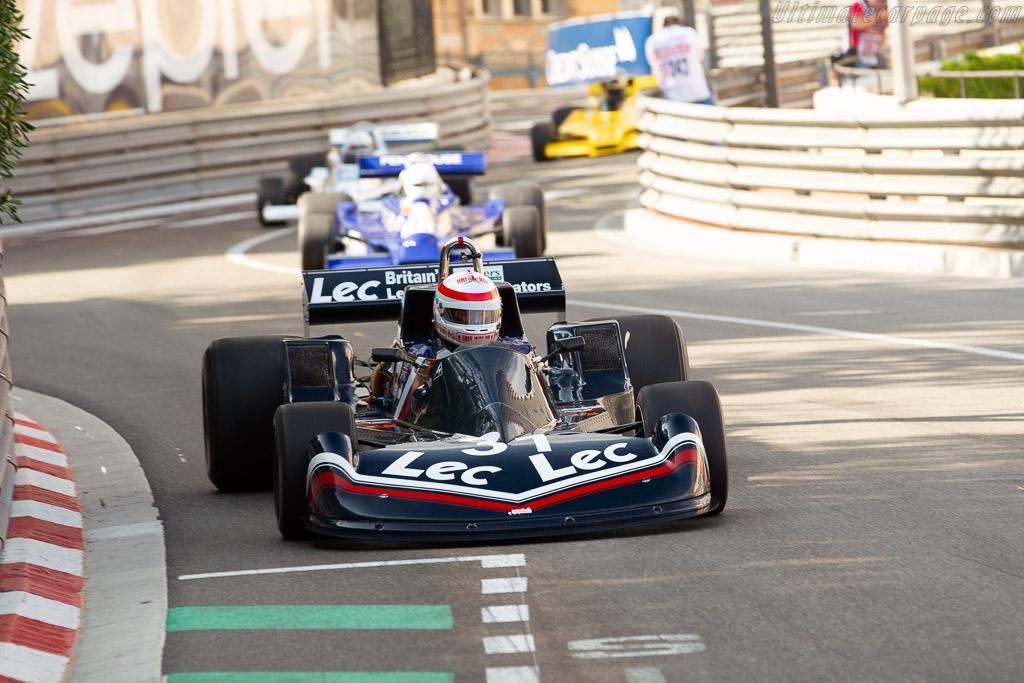 LEC CRP1 - Chassis: CPR1-77-002 - Driver: Ron Maydon  - 2018 Monaco Historic Grand Prix