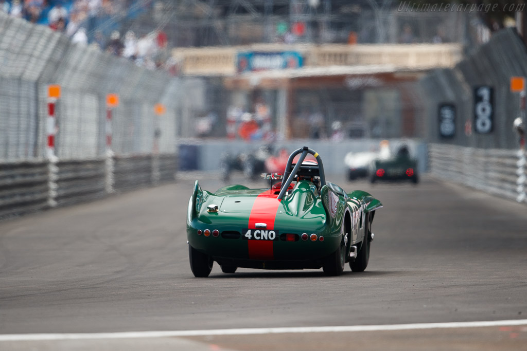 Lister Bristol - Chassis: BHL4 - Entrant: Barry Wood - Driver: Tony Wood  - 2018 Monaco Historic Grand Prix