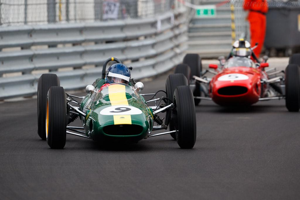 Lotus 25 - Chassis: R3 - Entrant: Classic Team Lotus - Driver: Andy Middlehurst  - 2018 Monaco Historic Grand Prix