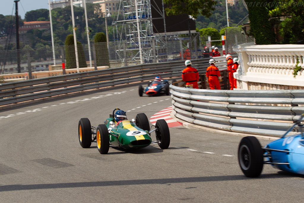 Lotus 25 - Chassis: R3 - Entrant: Classic Team Lotus - Driver: Andy Middlehurst  - 2018 Monaco Historic Grand Prix