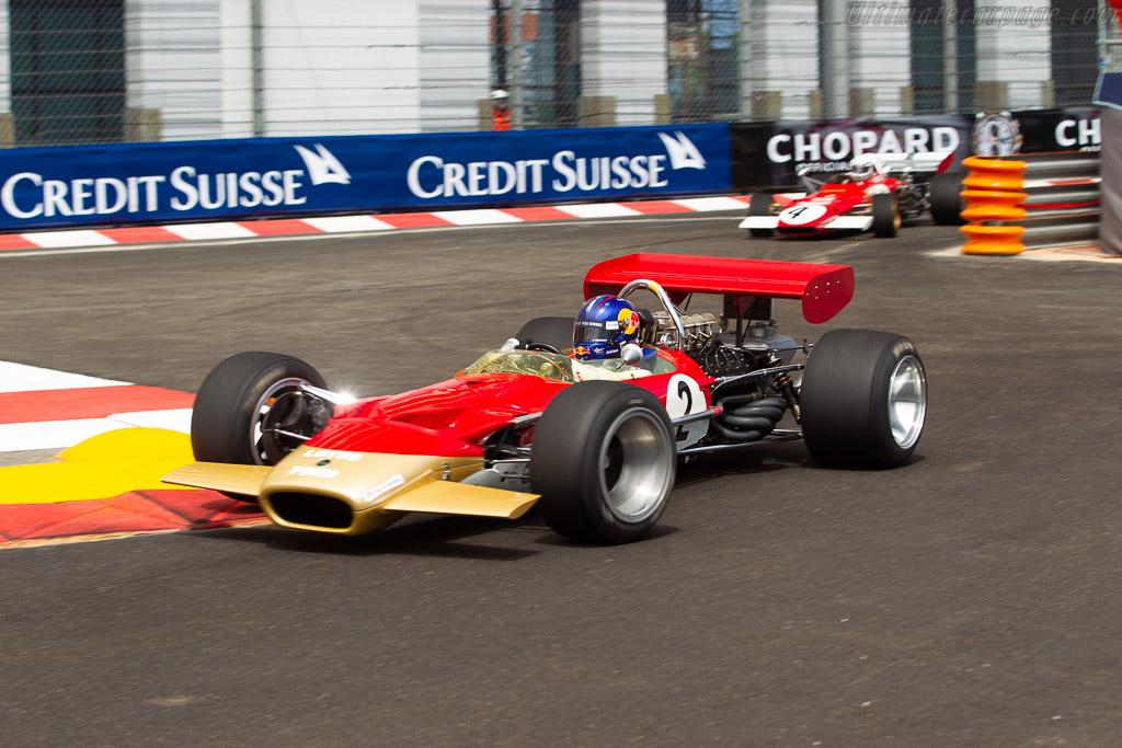 Lotus 49B - Chassis: R8 - Driver: Adrian Newey  - 2018 Monaco Historic Grand Prix