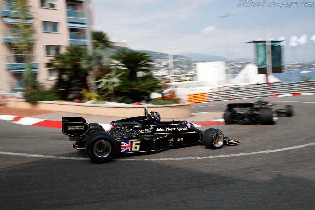 Lotus 77 - Chassis: JPS12 - Driver: Max Smith-Hilliard - 2018 Monaco Historic Grand Prix